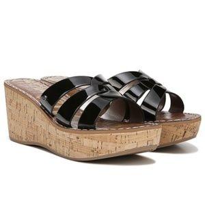 Sam Edelman  Raynere Platform Sandal black wedges